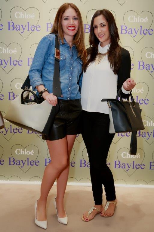 Carla of SUF with Lisa Saunders who took pictures of this outfit, both modelling the Chloe Baylee bag